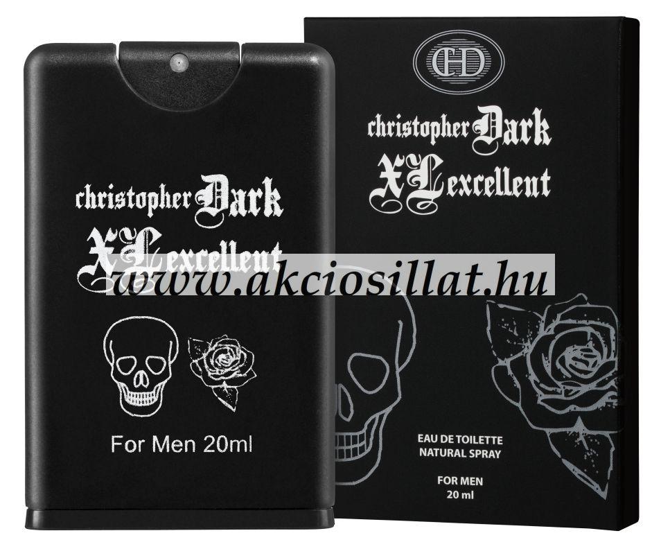 Christopher-Dark-XL-Excellent-Men-20ml-Paco-Rabanne-Black-XS-L-Exces-Men-parfum-utanzat
