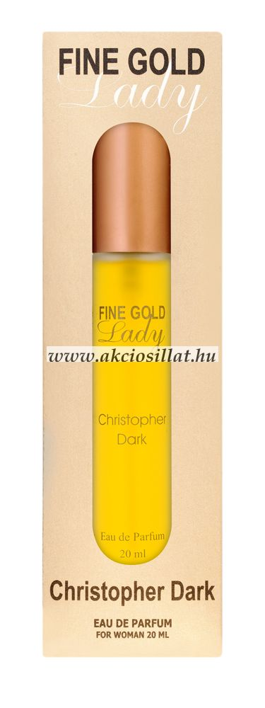 Christopher-Dark-Fine-Gold-Lady-Paco-Rabanne-Lady-Million-parfum-utanzat