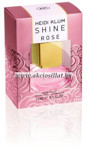 Heidi-Klum-Shine-Rose-parfum-rendeles-EDT-15ml
