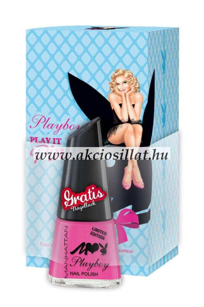 Playboy-Play-It-Pin-Up-parfum-ajandek-koromlakk