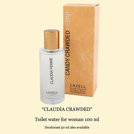 Lazell - Claudia Femme EDP 100 ml / Cindy Crawford