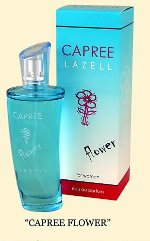 Lazell - Capree Flower EDP 75 ml / Escada - Into The Blue