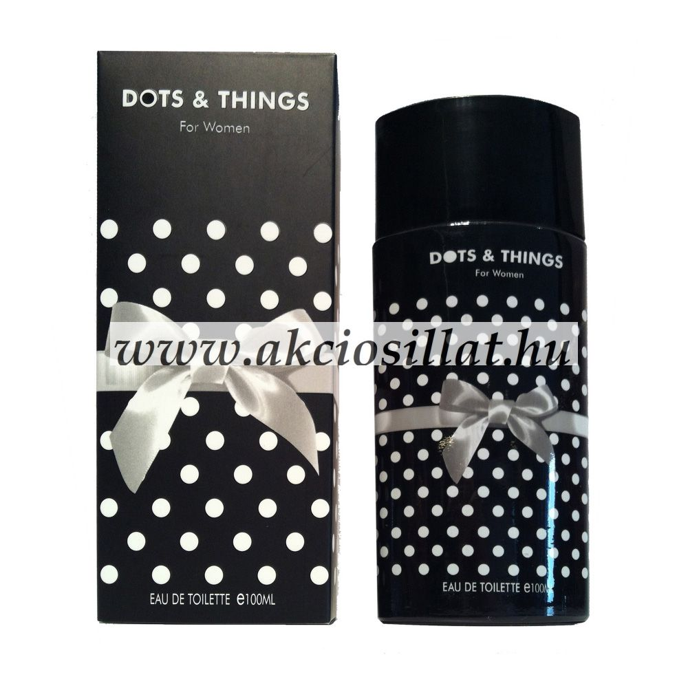 Real Time Dots & Things Black EDP parfüm 100ml