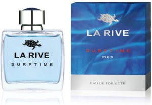 La Rive - Surftime Men EDT 100 ml / Lacoste Essential Sport