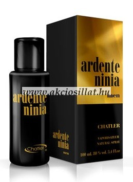Chatier - Ardente Ninia Black Men EDT 100 ml
