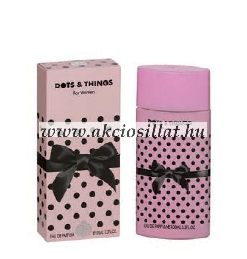 Real Time Dots & Things Pink  EDP parfüm 100ml