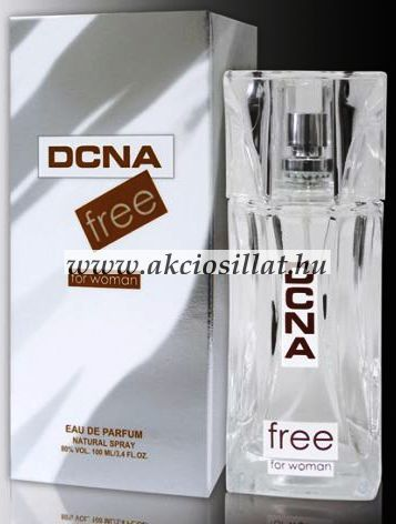 J.Fenzi - DCNA Free for Woman EDP 100ml /  DKNY Pure jellegű illat