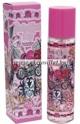 Real Time Broken Heart Foxy EDP parfüm 100 ml / ED hardy - Broken heart