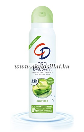 CD Aloe Vera alumínium mentes dezodor 150ml