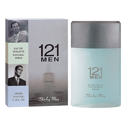 Shirley May - 121 for Men EDT 100ml / Carolina Herrera 212 Men