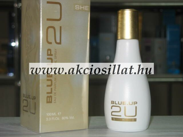 Blue Up - 2U She EDP 100 ml / Calvin Klein - IN2U Woman