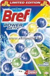 Bref-Power-Aktiv-Pure-Freshness-WC-frissito-3x50g