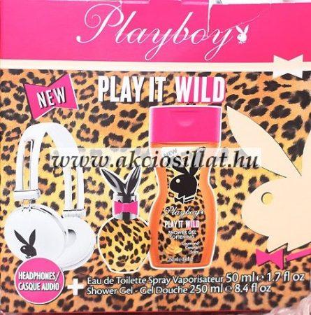 Playboy-Play-It-Wild-fejhallgatos-ajandekcsomag