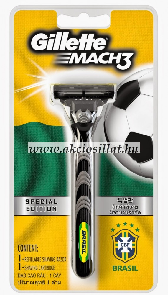 Gillette Mach3 Special Edition borotvakészülék - Olcsó parfüm ... f6f65e4b21