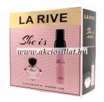 La-Rive-She-is-Mine-ajandekcsomag