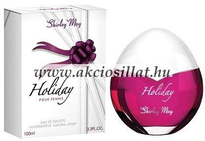 Shirley-May-Holiday-parfum-rendeles-EDP-100ml