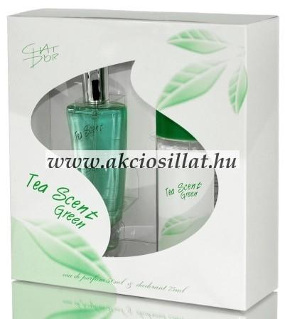 Chat-Dor-Tea-Scent-Green-ajandekcsomag