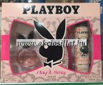 Playboy-Play-It-Sexy-ajandekcsomag-EDT-40ml-tusfurdo-250ml-dezodor-150ml