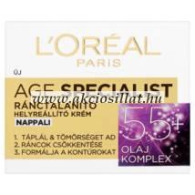 L'Oréal Age Specialist ránctalanító helyreállító krém 5