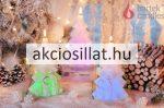 Díszgyertya Karácsonyfa 17cm DIÓDÁS 1db