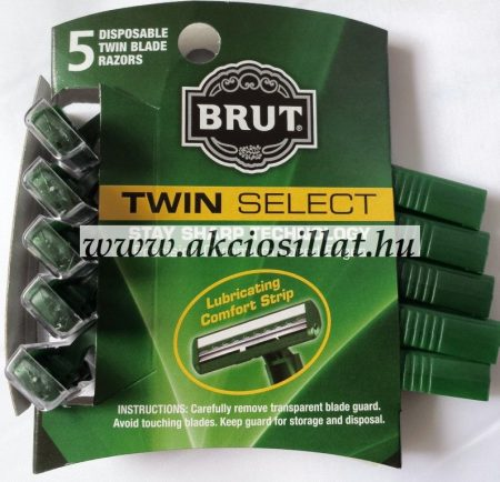 Brut-eldobhato-borotva-Twin-Select-5db