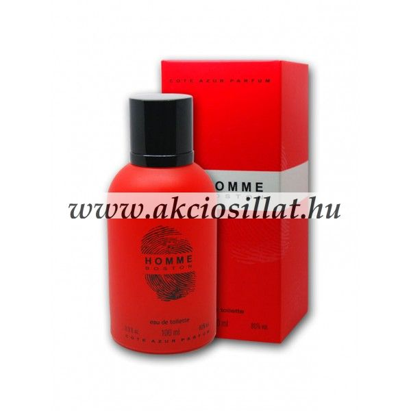 dc33ba7595237c Cote d Azur Homme Boston EDT 100ml   Hugo Boss Hugo Red parfüm utánzat