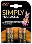 Duracell-Simply-LR03-AAA-ceruzaelem-1-5V-4db-os