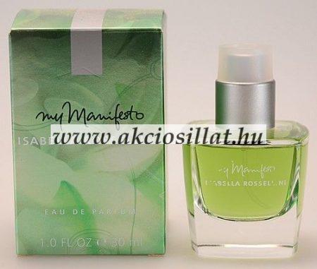 Isabella-Rossellini-My-Manifesto-parfum-rendeles-EDP-30ml
