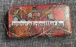 Noi-penztarca-falevel-mintas-piros-19x10x2cm
