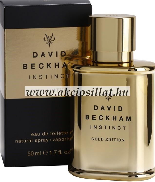 David Beckham Instinct Gold Edition Parfüm Edt 50ml Tester Rendelés