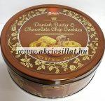 Bisca Dán vajas csokoládés keksz fémdobozban 454g
