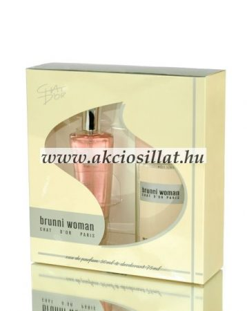 Chat-Dor-Brunni-Woman-ajandekcsomag-50-75ml