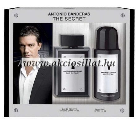 Antonio-Banderas-The-Secret-ajandekcsomag