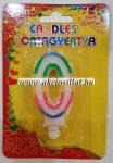Candels-Szulinapi-0-szamos-gyertya-6cm-tortagyertya