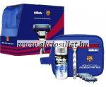 Gillette-Mach-3-Turbo-FC-Barcelona-Borotvakeszulek-5-betet-gel-75ml-Neszeszer
