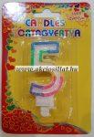 Candels-Szulinapi-5-szamos-gyertya-6cm-tortagyertya