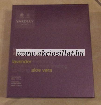 Yardley Lavender Spa EDT 50ml + Tusfürdő (ajándék szett)