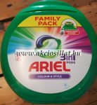 Ariel 3in1 Color & Style Mosókapszula 55db