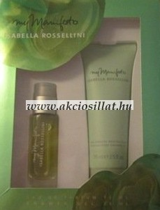 Isabella-Rossellini-My-Manifesto-parfum-szett-EDP-15ml-Tusfurdo-75ml