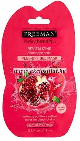 Freeman-lehuzhato-arcmaszk-pomegranate 15ml