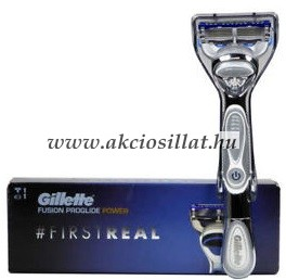 Gillette Fusion Proglide Power First Real Borotvakészülék rendelés ... 4082fd7aa8