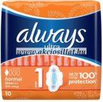 Always-Ultra-Normal-egeszsegugyi-betet-10db