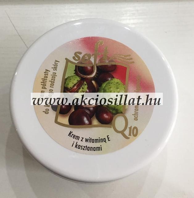 Editt Cosmetics Soft Q10 gesztenyés krém E vitaminnal 170ml