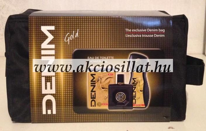 Denim Gold ajándékcsomag (edt+tusfürdő+táska)