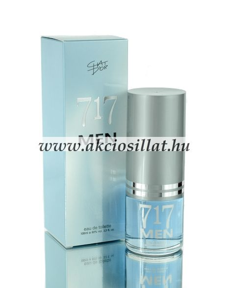 Chat D'or 717 Men EDT 100ml / Carolina Herrera 212 Men parfüm utánzat