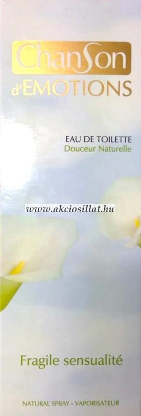 Coty Chanson d'Emotions Fragile Sensualite EDT 100ml