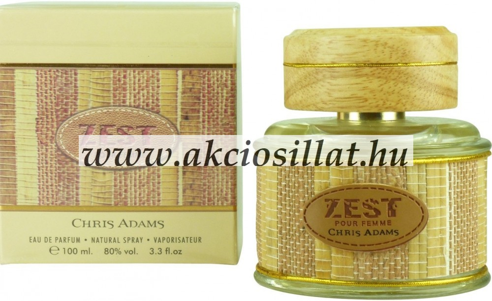 Image of Chris Adams Zest Pour Femme EDP 100ml
