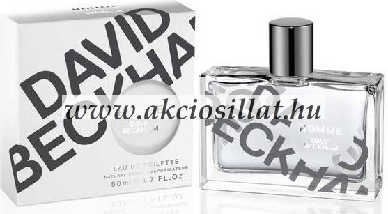 David Beckham Homme parfüm EDT 50ml