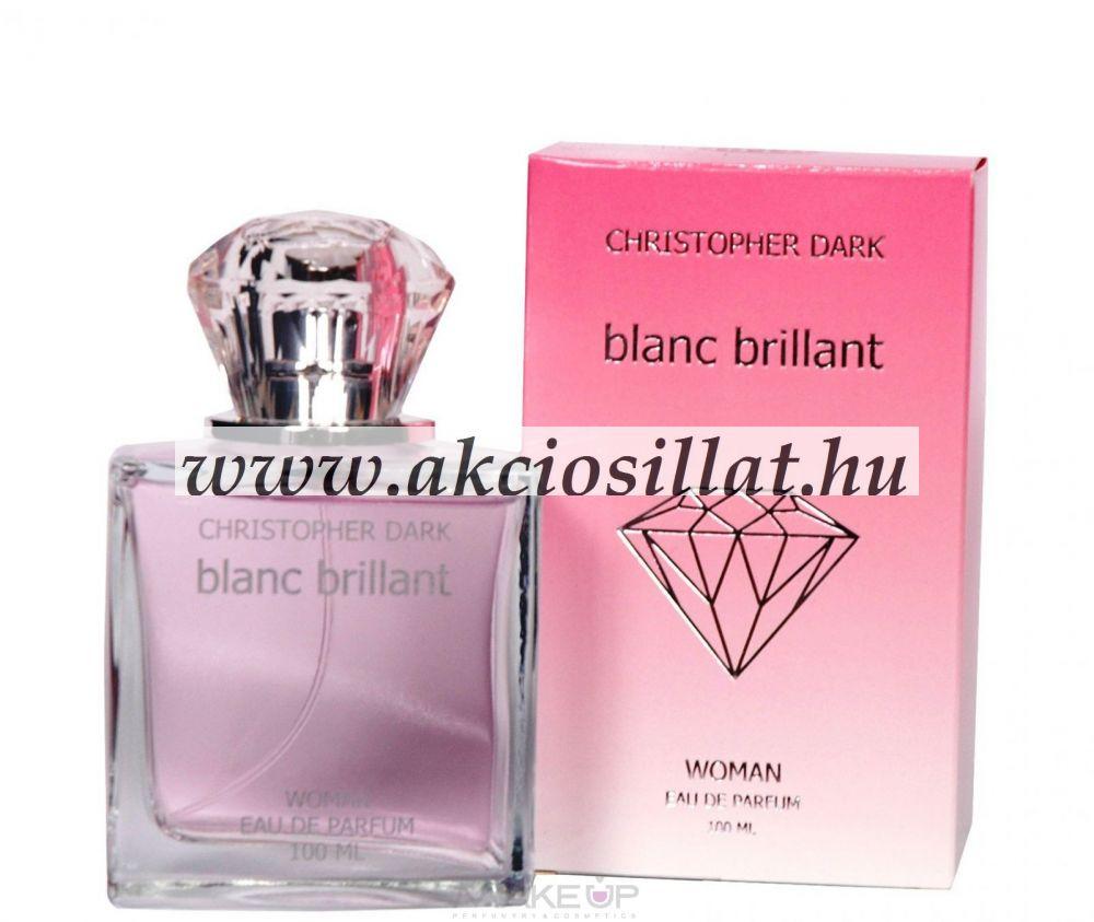 Christopher Dark Blanc Brillant Woman EDP 100ml / Versace Bright Crystal parfüm utánzat