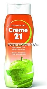 Creme 21 Green Apple zöld alma tusfürdő 250ml